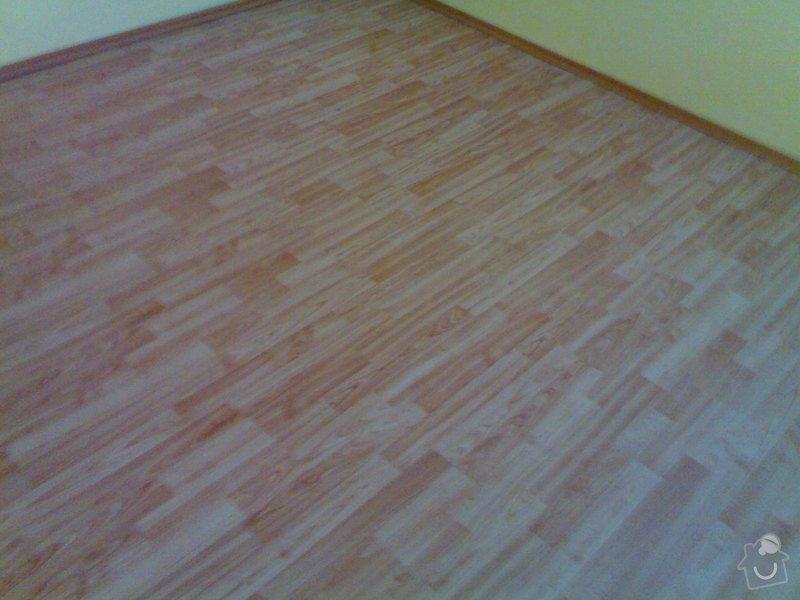 Položení plovoucí podlahy: 010820111014