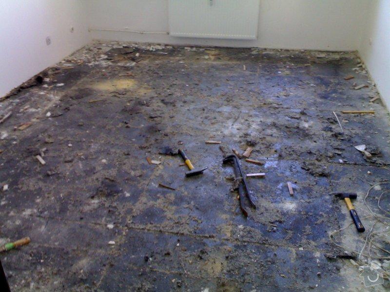 Položení plovoucí podlahy: 17072011943