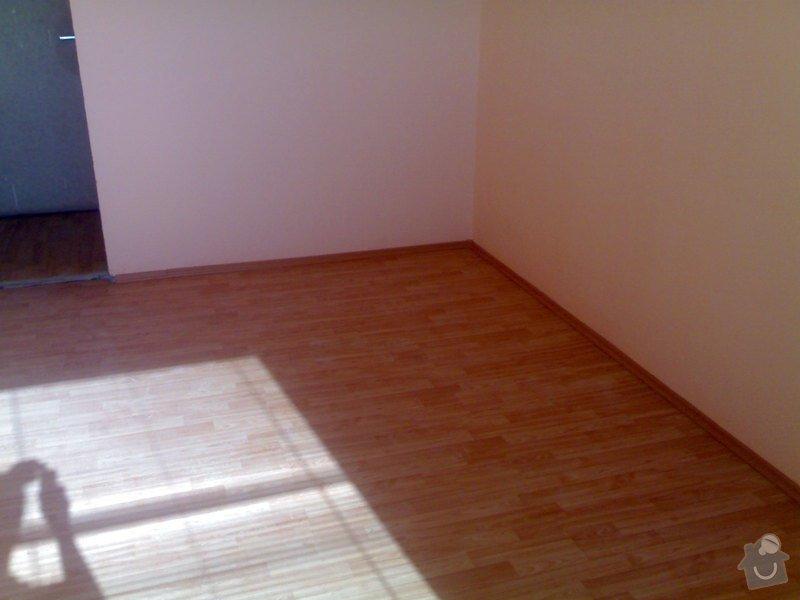Položení plovoucí podlahy: 29072011996