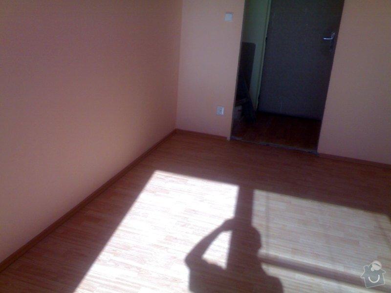 Položení plovoucí podlahy: 29072011997