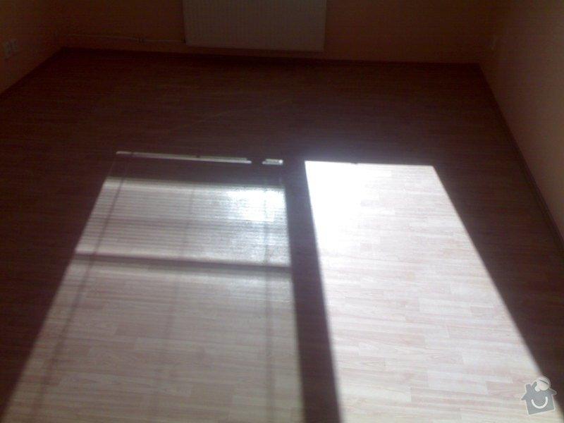 Položení plovoucí podlahy: 29072011998