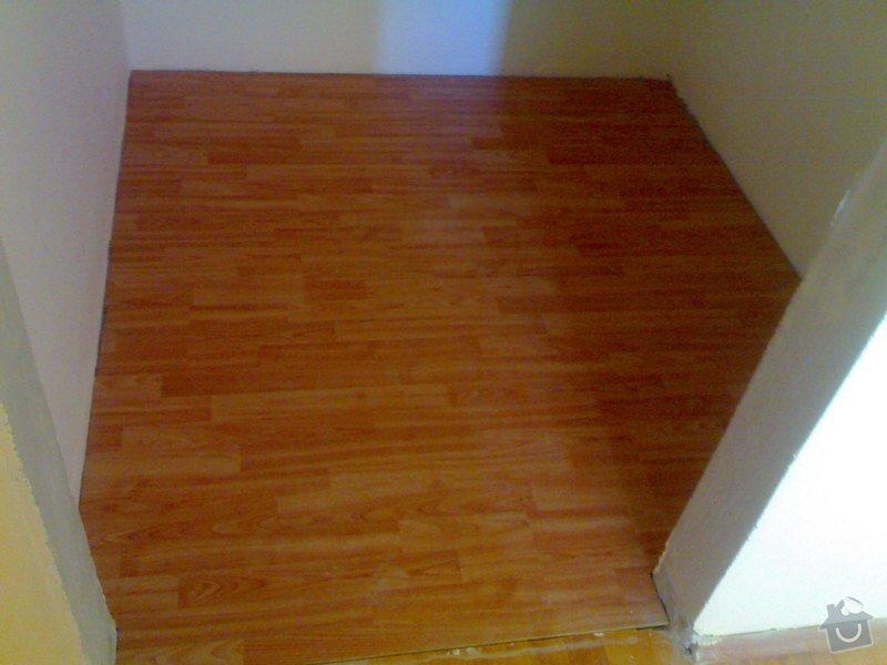 Položení plovoucí podlahy: 290720111000