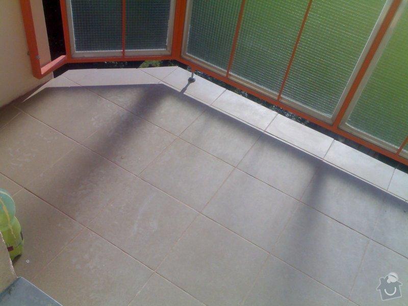 Položení plovoucí podlahy: 290720111004