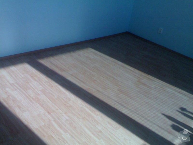 Položení plovoucí podlahy: 290720111006
