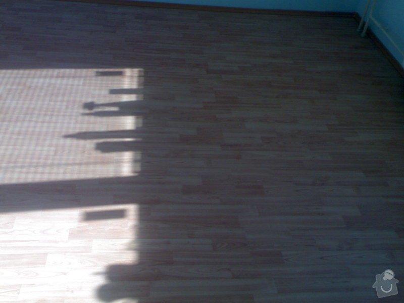 Položení plovoucí podlahy: 290720111007