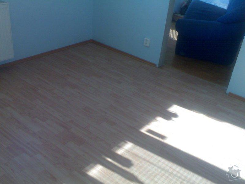 Položení plovoucí podlahy: 290720111008