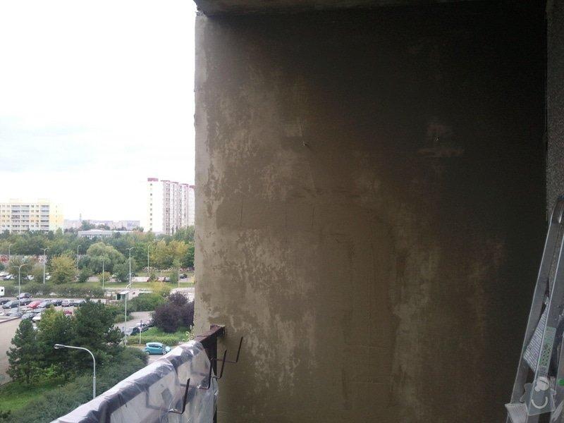 Renovace panelového balkonu: Fotografie089