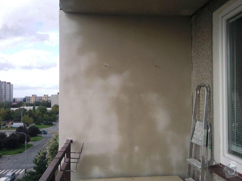 Renovace panelového balkonu: Fotografie093
