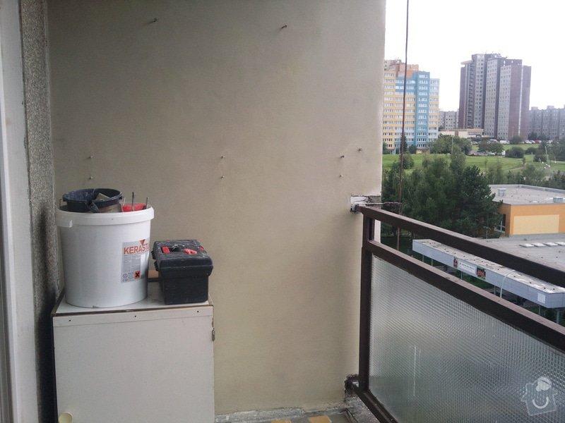 Renovace panelového balkonu: Fotografie095
