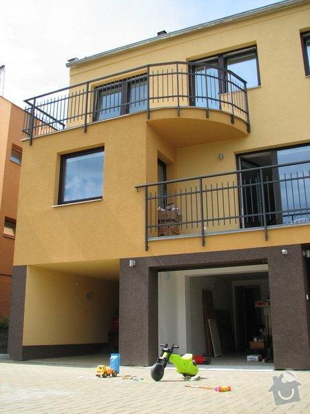 Okapy pro 2 balkony u rodinneho domku: IMG_1412