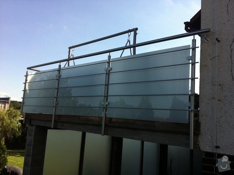 Nerezové zábradlí balkónu: IMG_1659