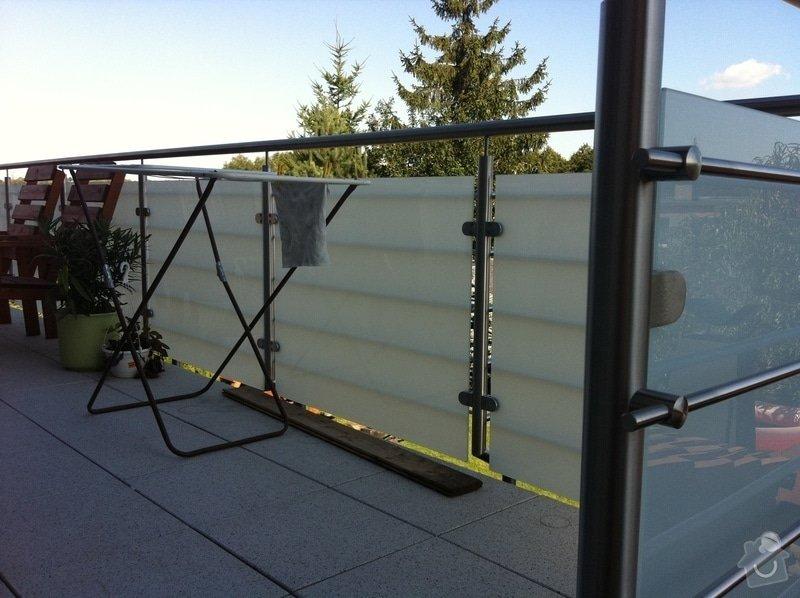 Nerezové zábradlí balkónu: IMG_1664