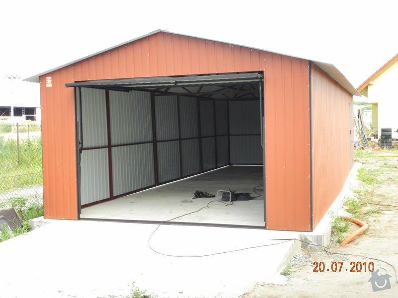 Plechová garáž: DSCN1005