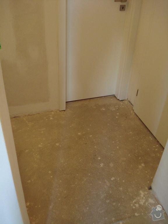 Pokládka podlahy v předsíni: Image00003