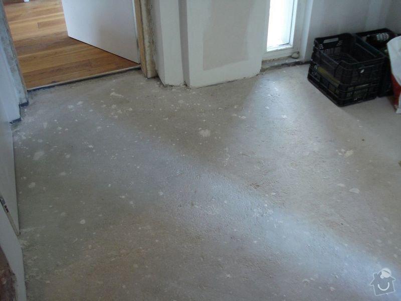 Pokládka podlahy v předsíni: Image00001