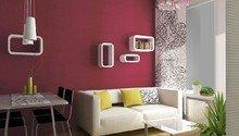 Návrh interiéru obývacího pokoje a ložnice
