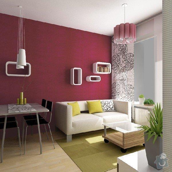 Návrh interiéru obývacího pokoje a ložnice: obyvak_1