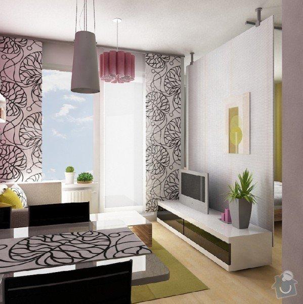Návrh interiéru obývacího pokoje a ložnice: obyvak_2