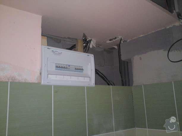 Rekonstrukce elektroinstalace v rodinném domě a montáž hromosvodu: DSC00467