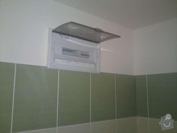 Rekonstrukce elektroinstalace v rodinném domě a montáž hromosvodu: DSC00522