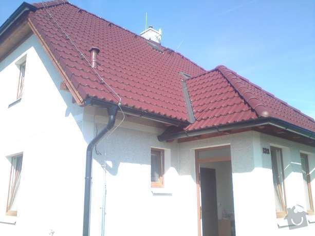 Montáž nového hromosvodu na rodinném domu: DSC00576