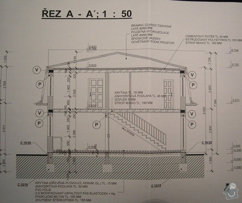 Základová deska RD (možná i realizace hrubé stavby): SAM_0599