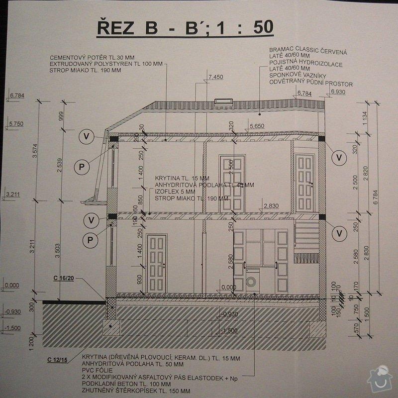 Základová deska RD (možná i realizace hrubé stavby): SAM_0600