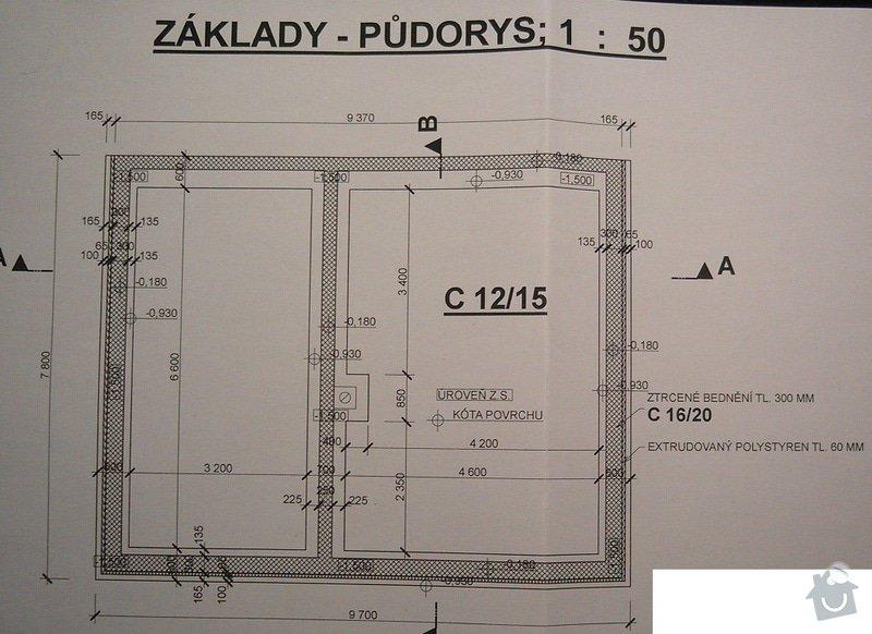 Základová deska RD (možná i realizace hrubé stavby): SAM_0596