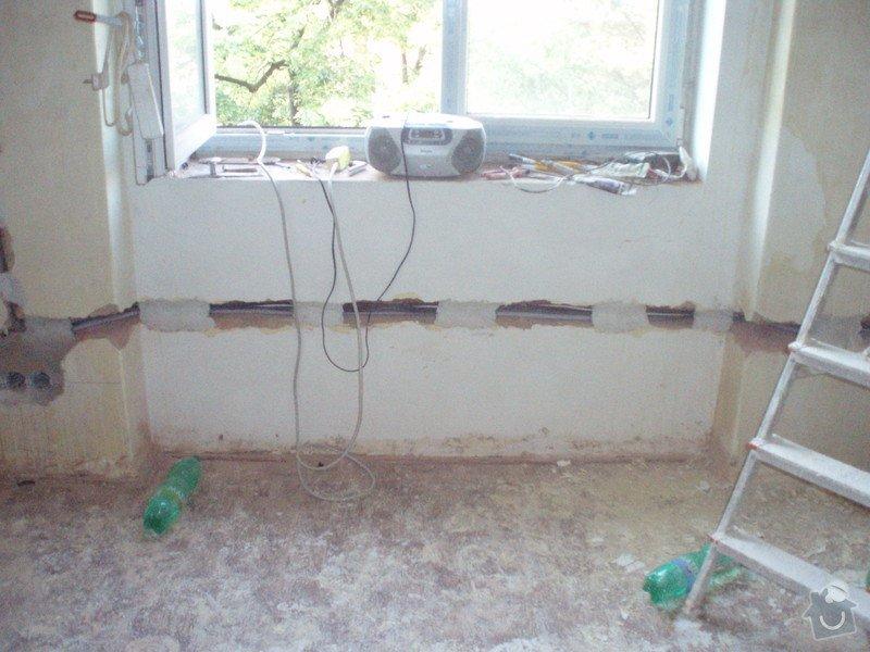 Rekonstrukce bytu v činžovním domě: a001