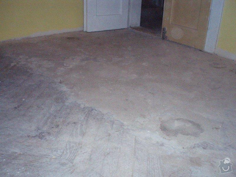 Rekonstrukce bytu v činžovním domě: a011