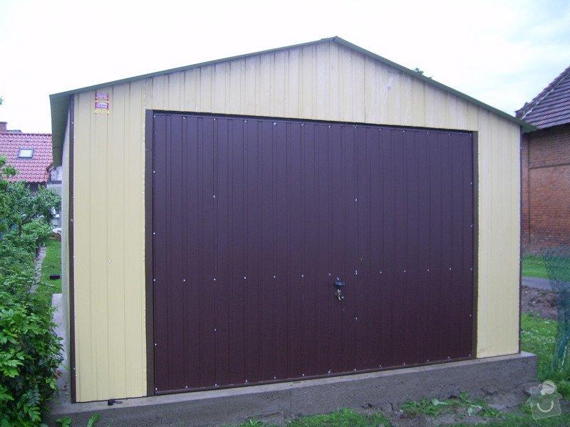 Plechová garáž: SSA40260