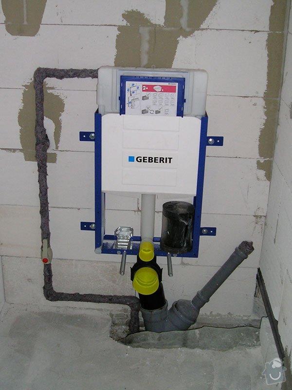 Vybudovat nové radiátorové topení v RD.: stavba