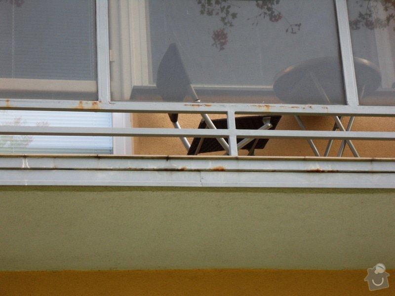 Výškové práce - oprava nátěru balkonů: SDC13982