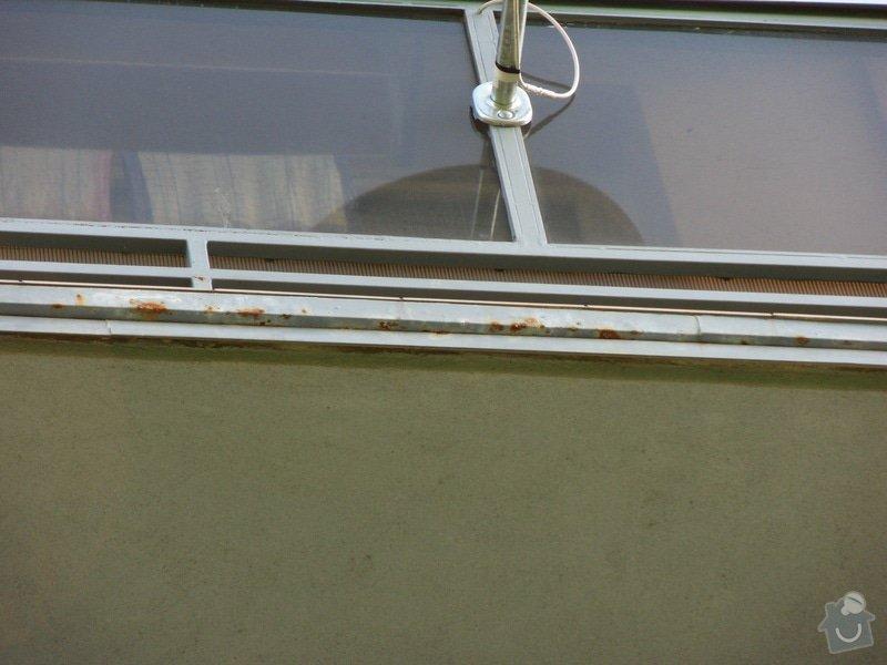 Výškové práce - oprava nátěru balkonů: SDC13983