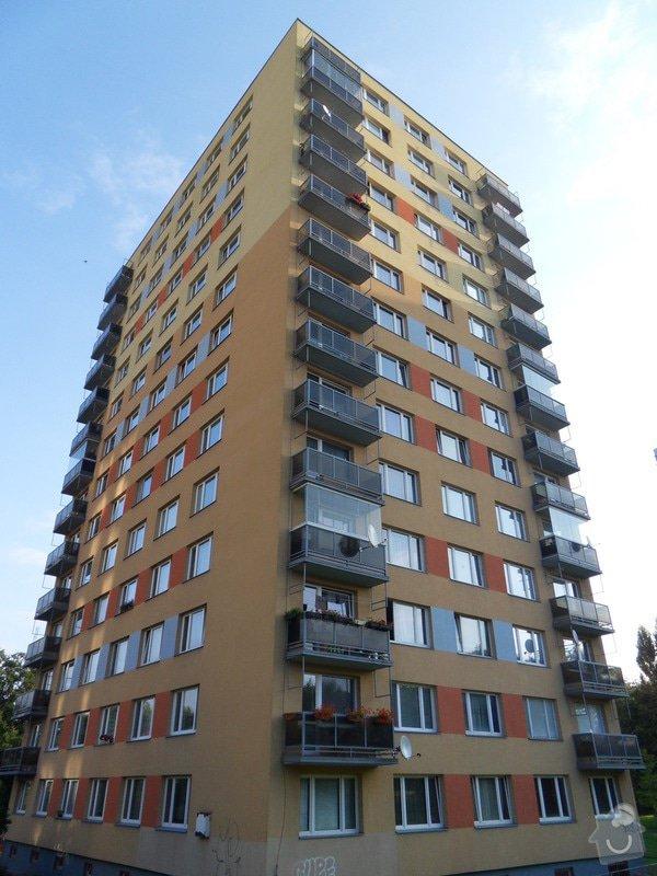 Výškové práce - oprava nátěru balkonů: SDC13985