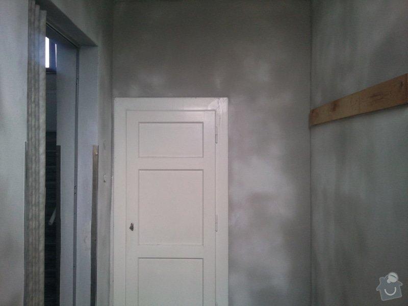 Renovace omítek v 1 pokoji a v chodbě v RD: Fotografie109