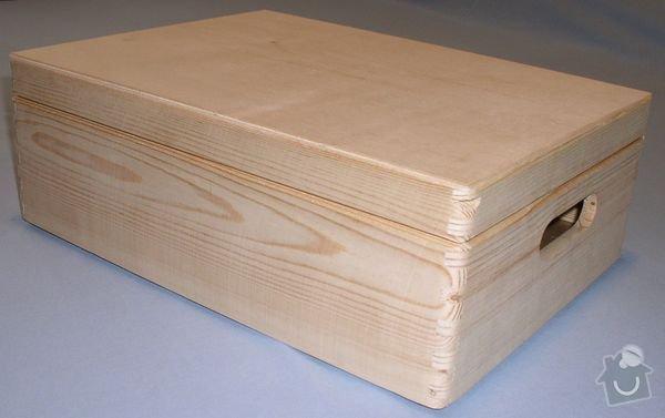 Dřevěné bedýnky s víkem: bedna1