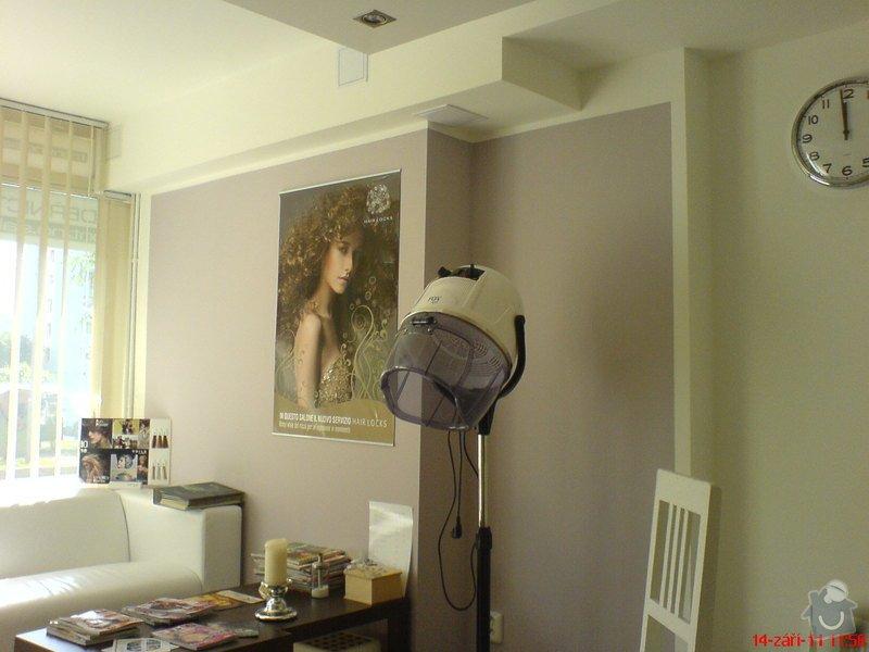 Rekonstrukce kadeřnického salonu - montáže sádrokartonu: po_dokonceni_-_03