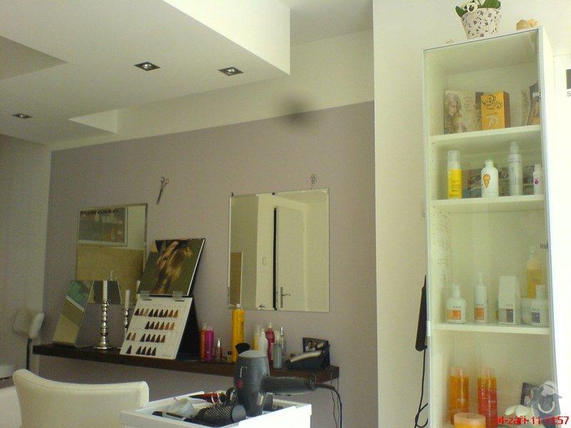 Rekonstrukce kadeřnického salonu - montáže sádrokartonu: po_dokonceni_-_04