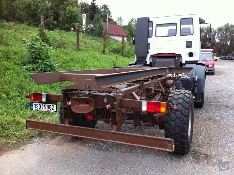 Nástavba na rám nákladního automobilu: IMG_0999