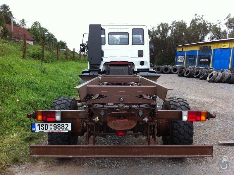 Nástavba na rám nákladního automobilu: IMG_1001