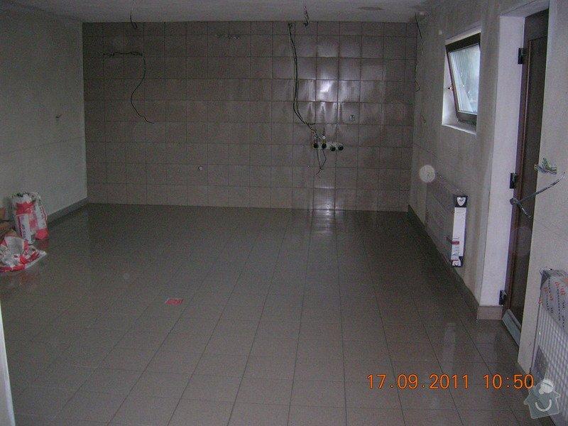 Obložení technické místnosti: DSCN4145