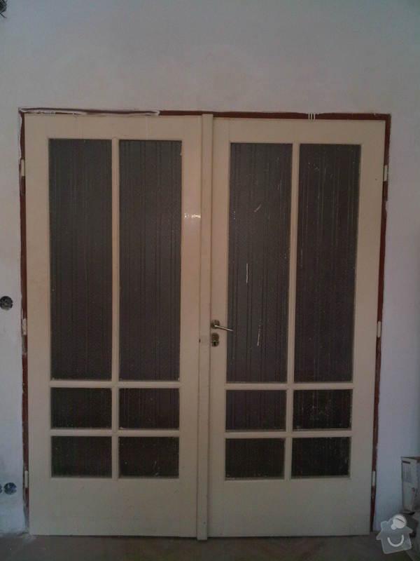 Renovace dvoukřídlých interierových dveří: IMG00269-20110625-1744