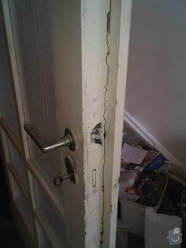 Renovace dvoukřídlých interierových dveří: IMG00270-20110625-1745
