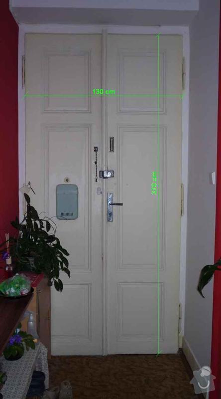 Čalounění vchodových dveří: P1060334