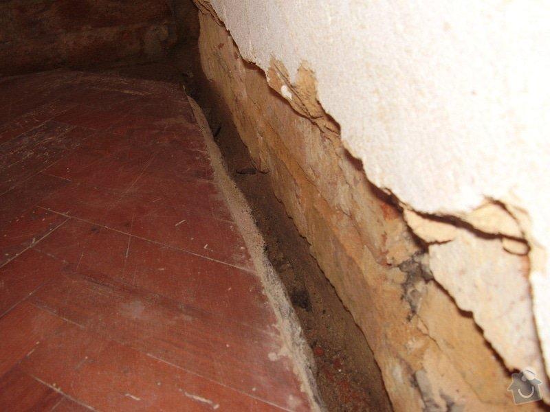 Štukování a zadělání dveří: P3210139