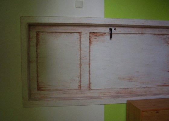 Štukování a zadělání dveří