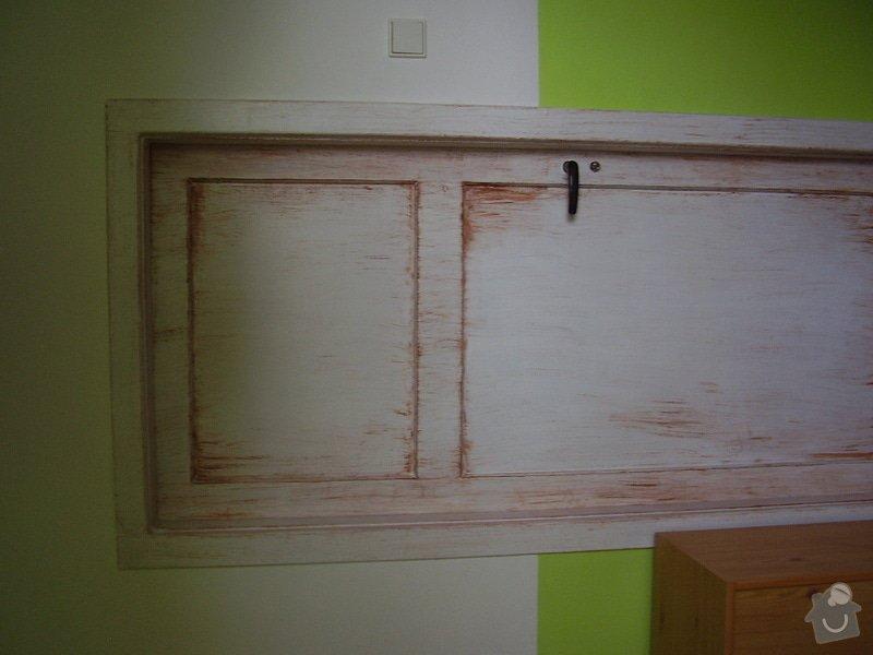 Štukování a zadělání dveří: P6290033