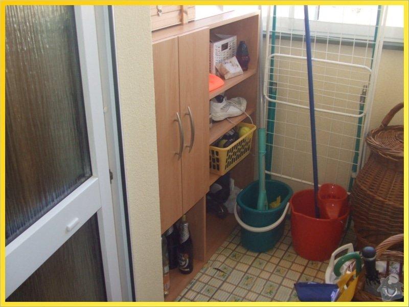 Skříňky, poličky, dokončení kuchyně, obložka...: 077