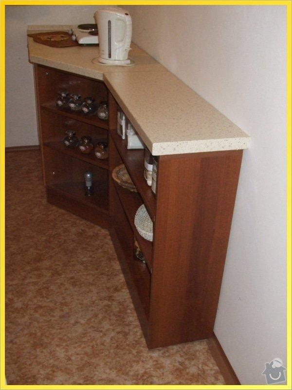 Skříňky, poličky, dokončení kuchyně, obložka...: 092